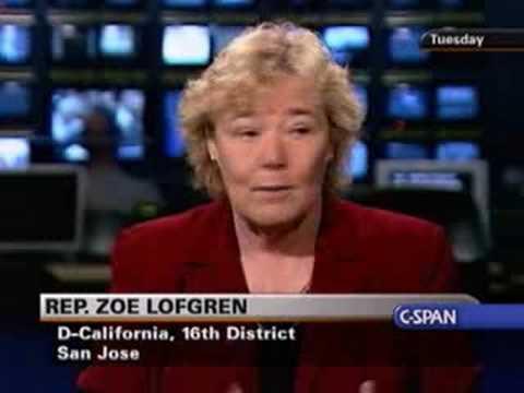 The Communicators: Rep. Zoe Lofgren (D-CA)