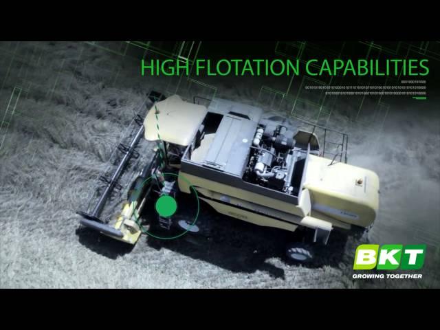 BKT Radial Harvesting Tires || Agrimax Teris