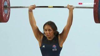 2016 European Weightlifting Championships, Women 63 kg \ Тяжелая Атлетика. Чемпионат Европы