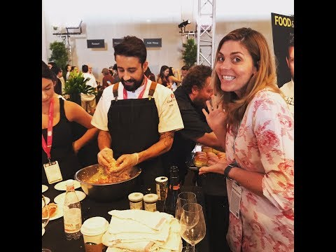 Mary at the LA Food and Wine Grand Tasting 2017