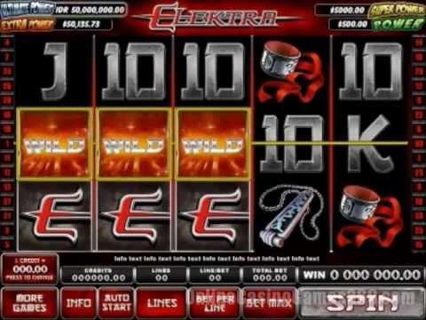 Online Casino Games - Elektra Slots
