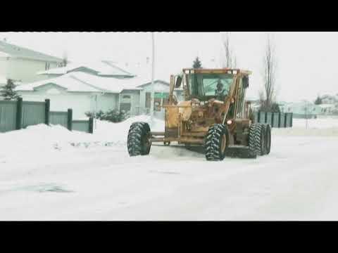 Extreme Snowfall In Edmonton - Canada