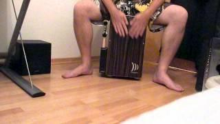 Cajon practice - Schlagwerk 2inone deluxe Makassar CP 432
