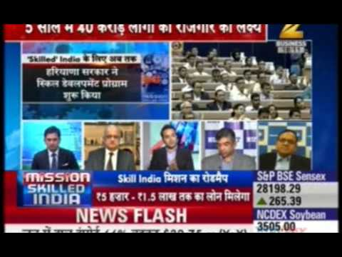 "Jetking media coverage, Mr. Avinash Bharwani in panel discussion of PM Modi's ""Skill India"" launch"