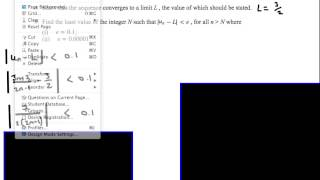 ib hl mathematics calculus option limits past paper worked solutions