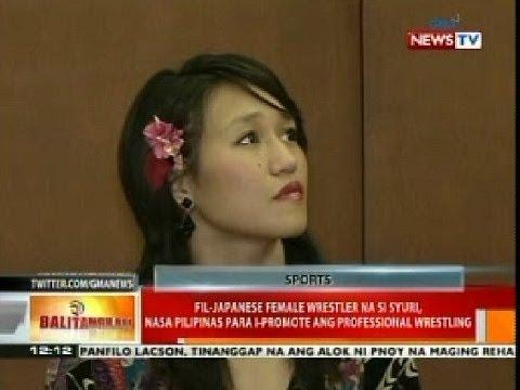 BT: Fil-Jap female wrestler na si Syuri, nasa Pilipinas para i-promote ang professional wrestling