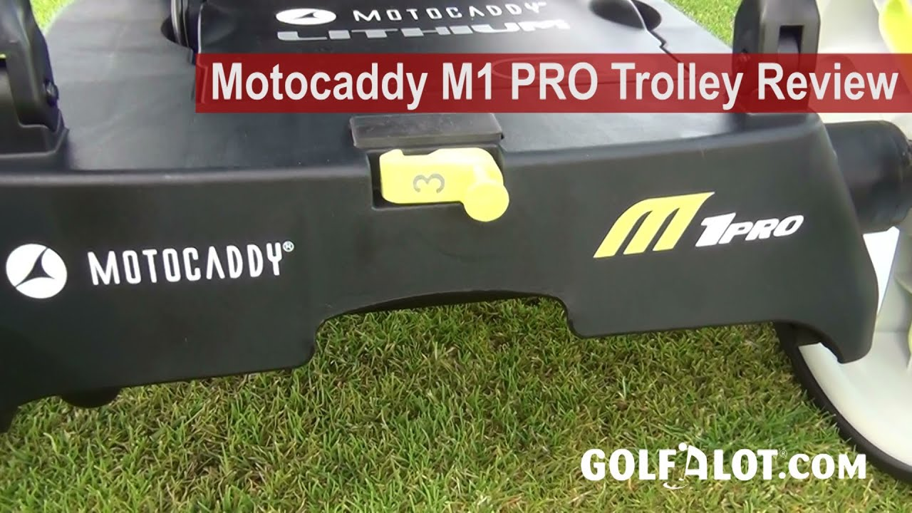 Motocaddy M1 PRO Trolley Review by Golfalot