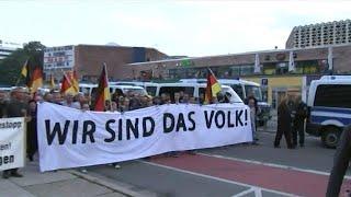 הפגנה בקמניץ גרמניה