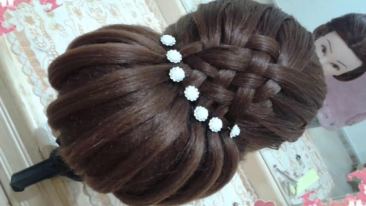 Peinados Recogidos Faciles Para Cabello Largo Bonitos Y Rapidos Con Trenzas Para Niña Para Fiestas37
