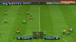 #2 - Pro Evolution Soccer 2009 Champions League Match PC HD - Manchester United Vs Juventus