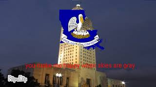 (You are my sunshine) Louisiana state song