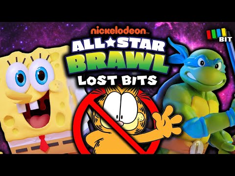 Nickelodeon All Star Brawl LOST BITS | Unused Characters, Stages & More! [TetraBitGaming]