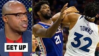 Jay Williams enjoys Joel Embiid' and Karl-Anthony Towns' social media trash talk | Get Up