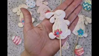 Пасхальные безе\ Easter meringues