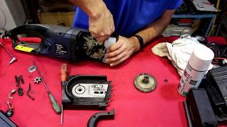 Электропила цепная ремонт и модернизация Craft cks 2250