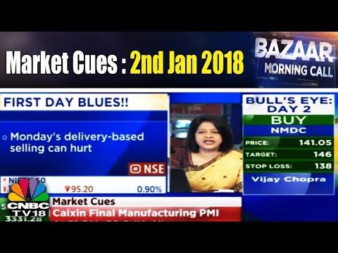 Bazaar Morning Call | Market Cues : 2nd Jan. 2018 | CNBC TV18