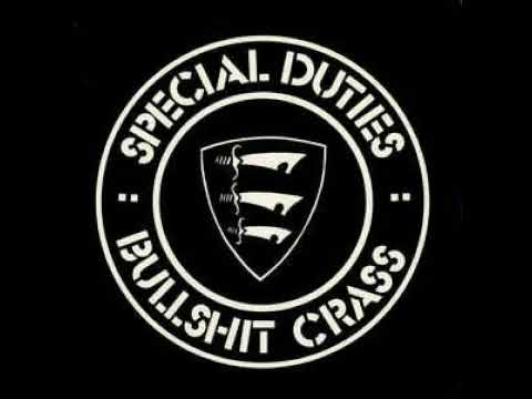"Special Duties - Bullshit Crass (full 7"" ep 1982)"