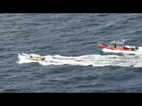 Coast Guard stops Mexican poachers in Gulf of Mexico