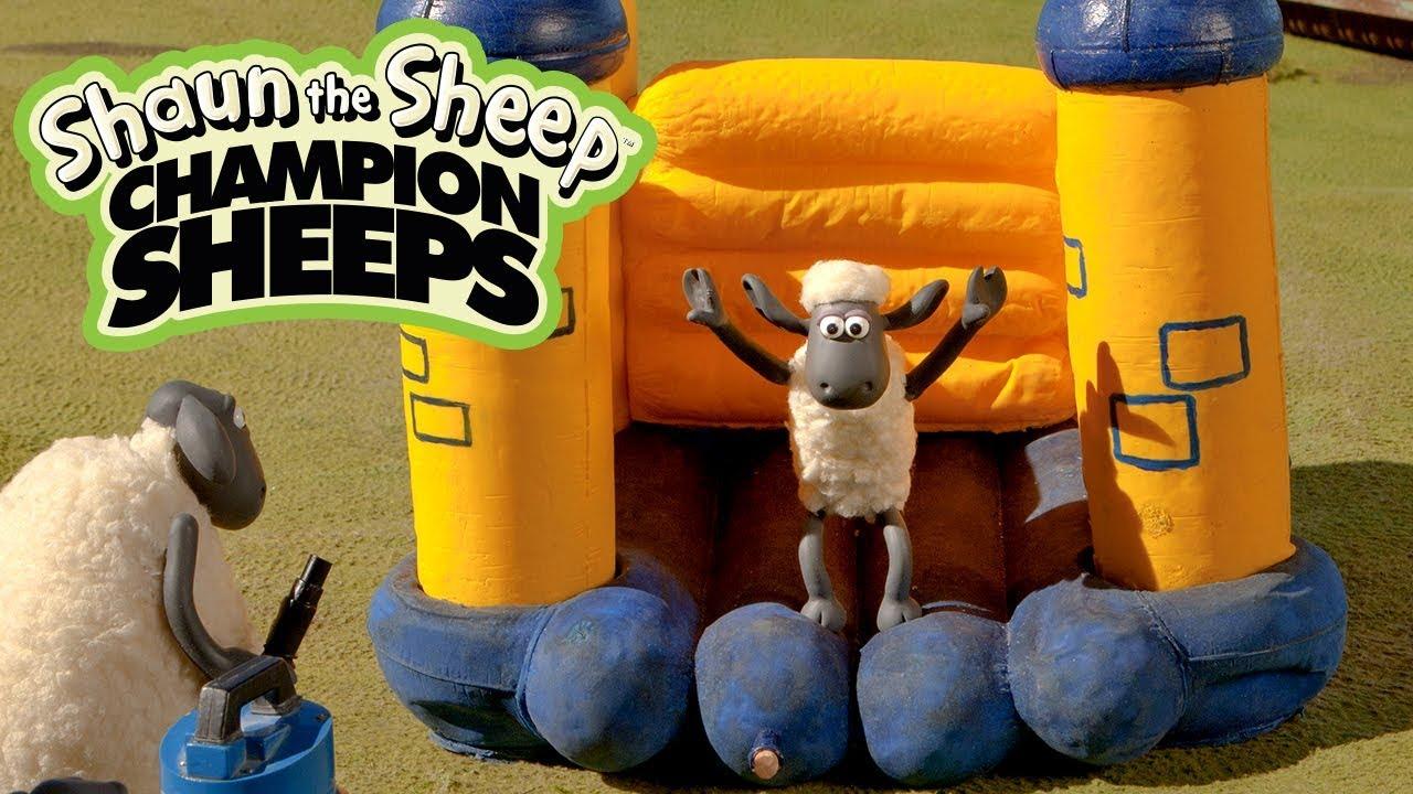 Nhào lộn bạt nhún | Championsheeps | Những Chú Cừu Thông Minh [Shaun the Sheep]