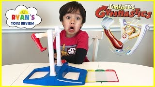 Fantastic Gymnastic Challenge! Family Fun Games for Kids! Egg Surprise Toys Extreme Warhead Candy thumbnail