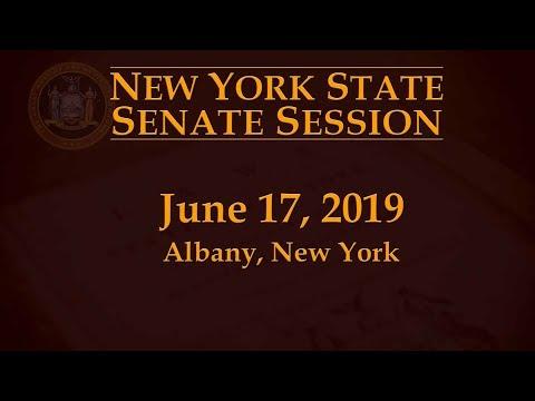 New York State Senate Session - 6/17/19