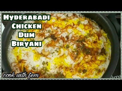 World Famous Hyderabadi Chicken Dum Biryani | Restaurant Style Biryani Step By Step | Cook With Fem