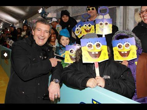 Antonio Banderas interview for The SpongeBob Movie: Sponge out of Water