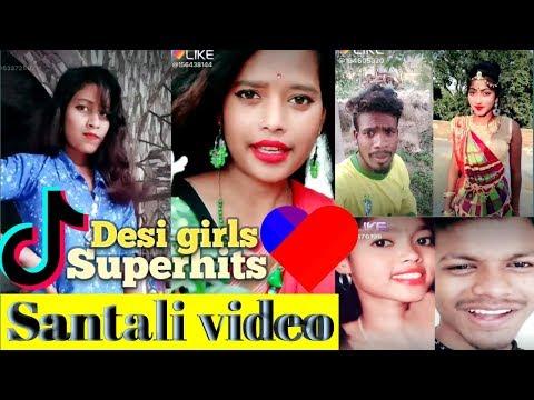 New Santali TikTok/Like video 2019 || santali Musically video