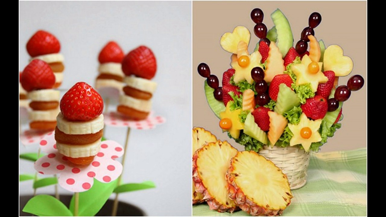 Best fruit decorations ideas youtube for Decoration fruit