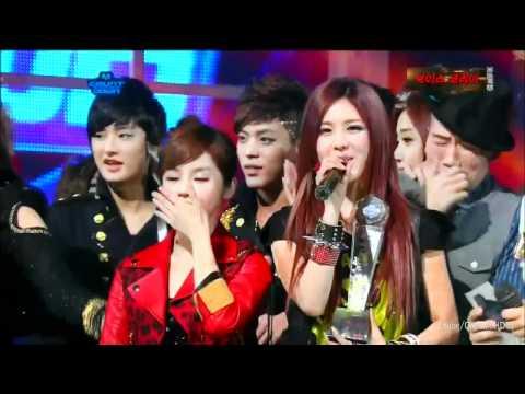 T-ara win M Countdown ( 1-12-2012 ) Lovey Dovey