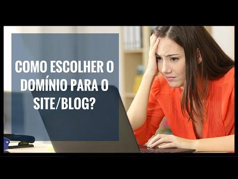 Como escolher o domínio para o site/blog? - Fabio  Vasconcelos