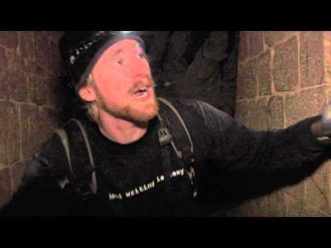 Steve Duncan in the Paris Catacombs - film by Miru Kim