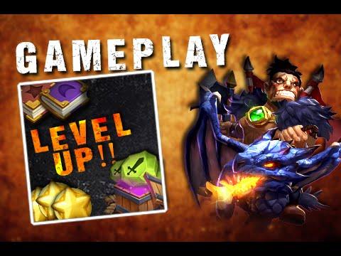 Castle Clash New Hero DraCax Gameplay