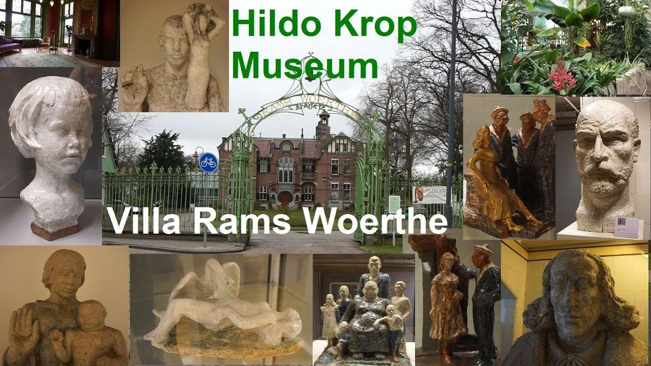 Hildo Krop Museum , Villa Rams Woerthe , Steenwijk 13 maart 2018