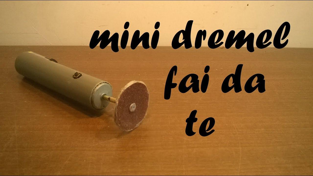 Come costruire un mini dremel 9v mini trapano elettrico for Progetto tornio fai da te