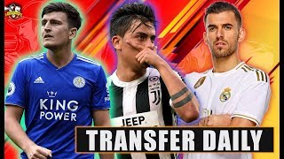 Man United to make new Harry Maguire bid! Arsenal double deal TODAY! Tottenham target £80m Dybala