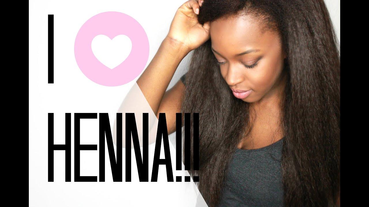 Haare mit HENNA Färben - Rot zu SCHWARZ - YouTube