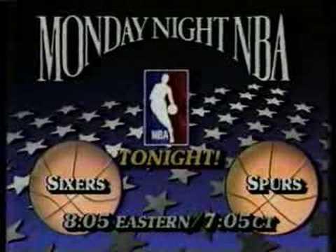 NBA on TBS premiere ad (1985)