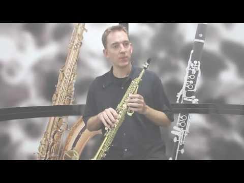 Mendini MSS Soprano Saxophone Demo