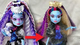 #UNREBOOTED MONSTER HIGH COLLECTOR ABBEY REVIEW! OOAK