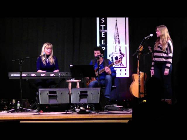 """Lori Diamond and Fred Abatelli at the Steeple Coffeehouse - """"Never Too Late"""""""