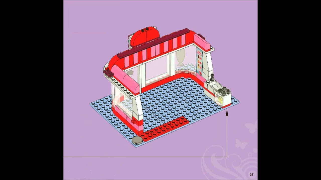 How To Build The Cafe Lego Friends