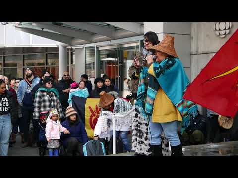 JB The First Lady @ Justice for Tina Fontaine -Vancouver