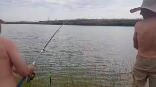 Рыбалка в п. Енбекши у дяди Вити, июнь 2019 г.