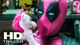 DEADPOOL 2 - Pink Suit Trailer 2018  (Ryan Reynolds) Marvel Superhero Action Movie