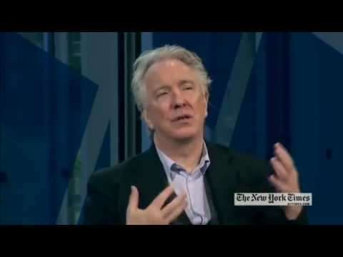 Alan Rickman 1 Hour Interview (Part 1/4) @ New York Times Arts & Leisure Weekend January 2012