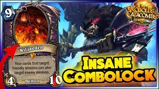 INSANE COMBOLOCK!! - WTF MOMENTS - Hearthstone Funny and lucky Rng Moments