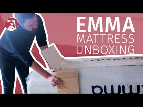 Emma Mattress - Unboxing