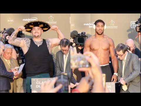 Download WOW! - ANDY RUIZ WEIGHS IN OVER 20 STONE AGAINST LEANER ANTHONY JOSHUA - OFFICIAL WEIGH-IN (SAUDI)