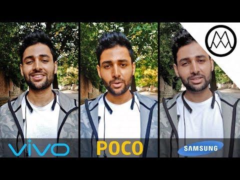 Vivo V11 Pro vs Pocophone F1 vs Samsung Note 9 Camera Test Comparison